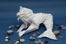 Origami Merlion 3.0 by Andrey Ermakov on giladorigami.com