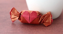 Origami Sweet heart by Francis Ow on giladorigami.com
