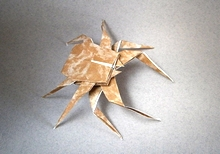 Origami Spider by Bob Allen on giladorigami.com