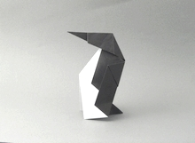 Origami Penguin by Michael Assis on giladorigami.com