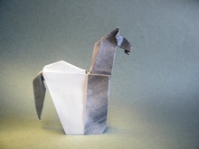 Origami Horse or bookmark by Evi Binzinger on giladorigami.com
