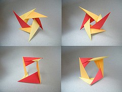 Origami Unstabile by David Brill on giladorigami.com