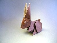 Origami Rabbit by Juan Francisco Carrillo on giladorigami.com