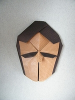 Origami Face by Steven Casey on giladorigami.com