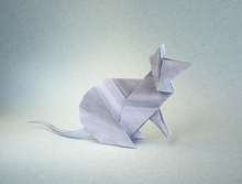 Origami Mouse by Steven Casey on giladorigami.com