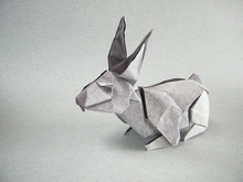 Origami Rabbit by Fernando Castellanos on giladorigami.com