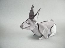 Origami Rabbit By Fernando Castellanos On Giladorigami