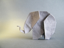 Origami Elephant by Edwin Corrie on giladorigami.com