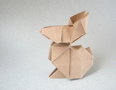 Origami Rabbit by Edwin Corrie on giladorigami.com
