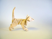 Origami Cat by Tom Defoirdt on giladorigami.com