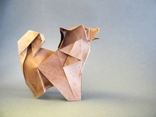 Origami Chow chow by Roman Diaz on giladorigami.com