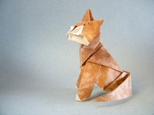 Origami Devon rex by Roman Diaz on giladorigami.com
