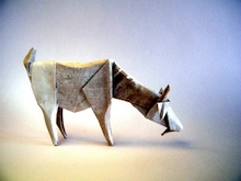 Origami Goat by Roman Diaz on giladorigami.com