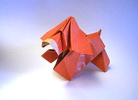 Origami Cocker by Roman Diaz on giladorigami.com