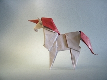 Origami Unicorn by Roman Diaz on giladorigami.com