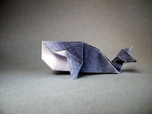 Origami Whale by Roman Diaz on giladorigami.com