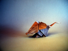 Origami Mouse by Vicente Dolz on giladorigami.com