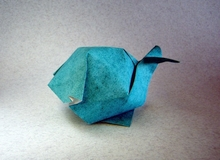 Origami Whale by Xin Can (Ryan) Dong on giladorigami.com