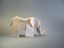 Origami Elephant 13 by Klaus Dieter Ennen on giladorigami.com