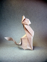 Origami Cat by Andrey Ermakov on giladorigami.com