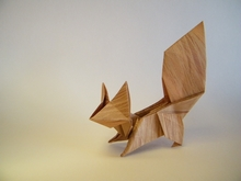 Origami Squirrel by Oriol Esteve on giladorigami.com