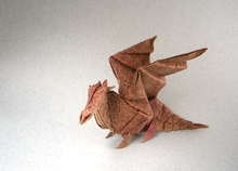 Origami Dragon whelp by Paul Frasco on giladorigami.com