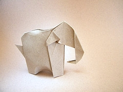 Origami Elephant by Eugeny Fridrikh on giladorigami.com