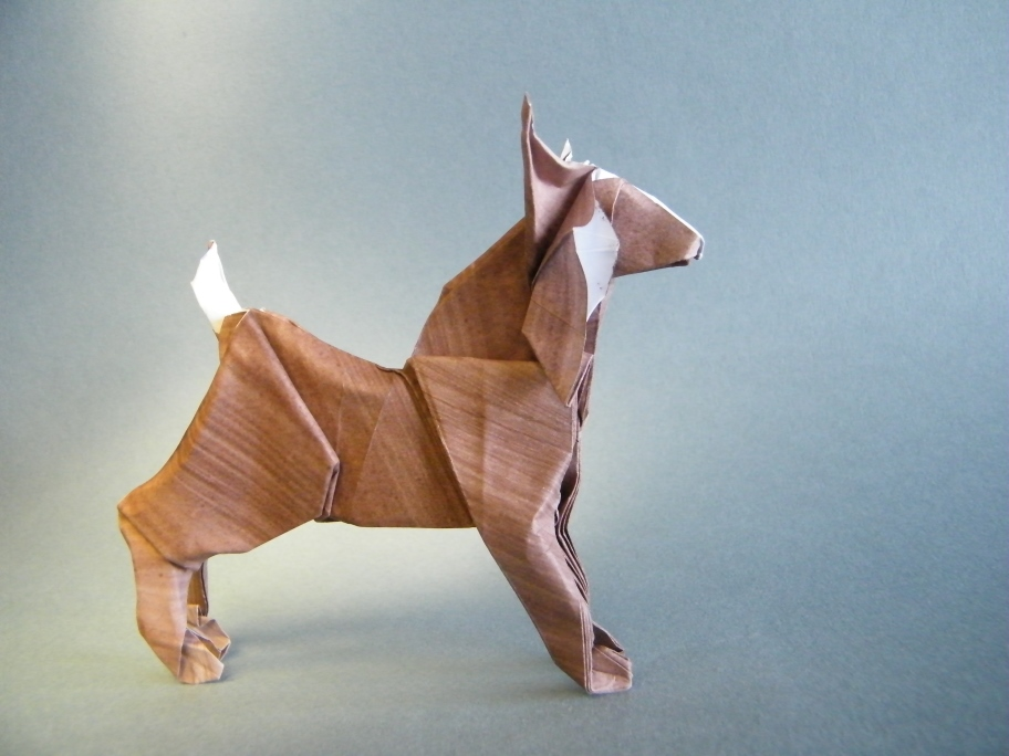 Origami Lynx by Richard Galindo Flores on giladorigami.com