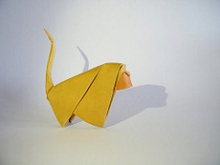Origami Monkey by Giang Dinh on giladorigami.com
