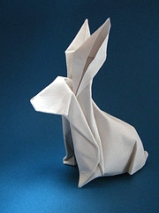 Origami Rabbit by Alfredo Giunta on giladorigami.com