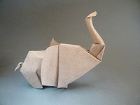 Origami Elephant by Hoang Tien Quyet on giladorigami.com