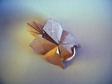28 Square Origami Flying Squirrel By Gen Hagiwara On Giladorigami