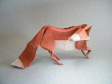 Origami Fox By Jose M Herrera On Giladorigami