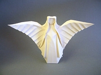 Origami Guardian angel by Max Hulme on giladorigami.com