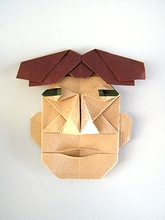 Origami Mask by Jose Angel Iranzo on giladorigami.com