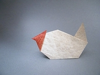 Origami Chicken by Kunihiko Kasahara on giladorigami.com