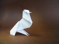 Origami Dove by Kunihiko Kasahara on giladorigami.com
