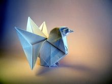Origami Rooster by Kunihiko Kasahara on giladorigami.com