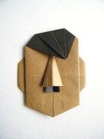 Origami Adolf Hitler by Eric Kenneway on giladorigami.com