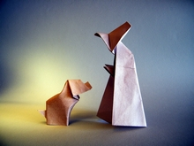 Origami Mother hubbard by Eric Kenneway on giladorigami.com