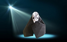 Origami Phantom of the opera by Eric Kenneway on giladorigami.com