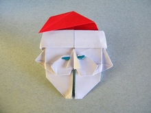 Origami Santa by Eric Kenneway on giladorigami.com