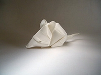 Origami Mouse by Nguyen Nhat Khoa on giladorigami.com