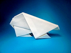 Origami Polar bear by Marc Kirschenbaum on giladorigami.com