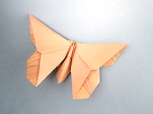 Origami Butterfly - Eric Joisel by Michael G. LaFosse on giladorigami.com
