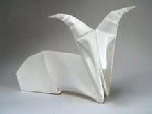 Origami Ibex by Robert J. Lang on giladorigami.com