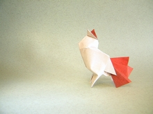 Origami Chicken by Yan Ting Lin on giladorigami.com