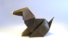 Origami Dog by Marc Kirschenbaum on giladorigami.com