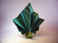 Origami Peacock by Marc Kirschenbaum on giladorigami.com