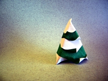 Origami Snowy fir by Cyrille Masseys on giladorigami.com